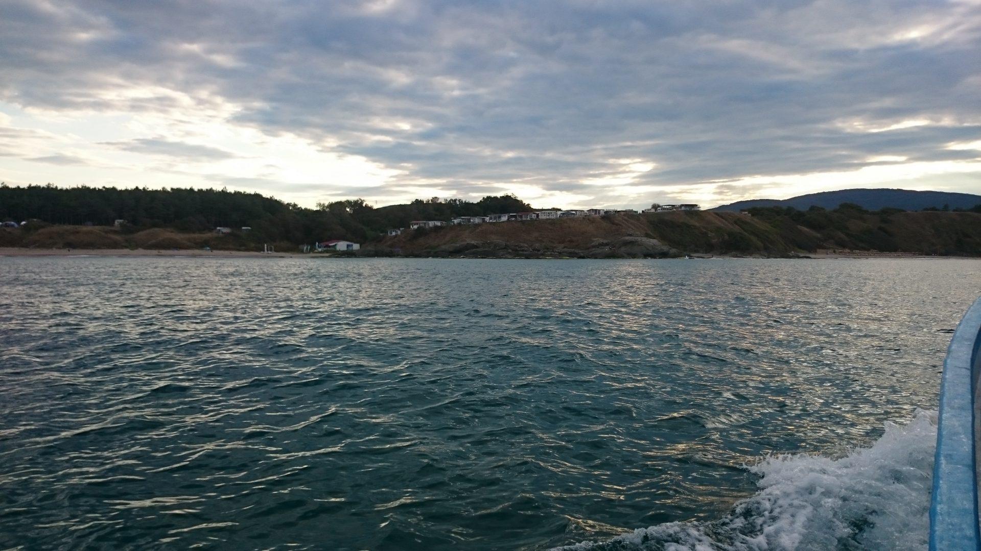 Achtopol - projíždka na loďce (3)