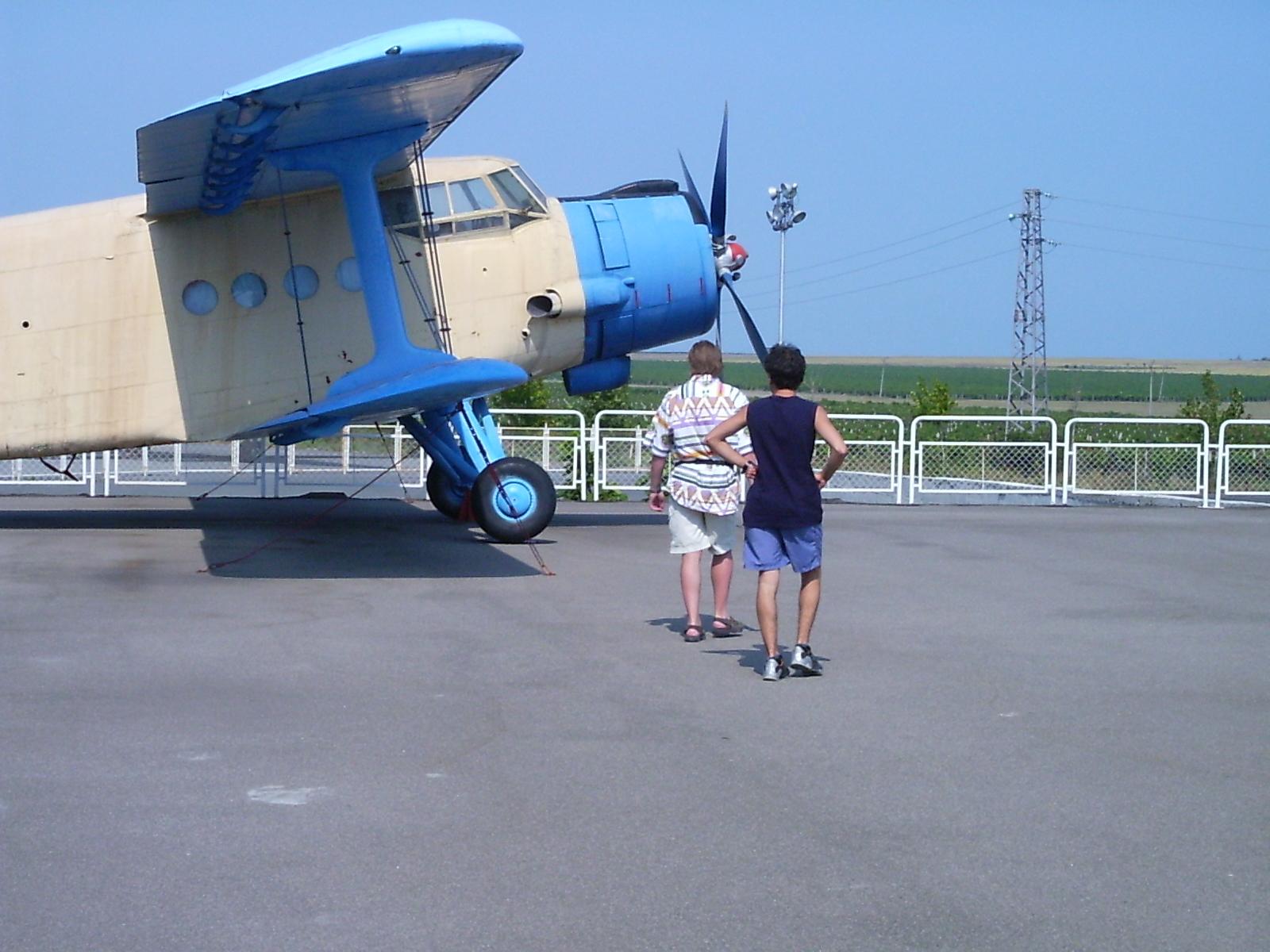 Burgas - letište (odstavené letadlo)