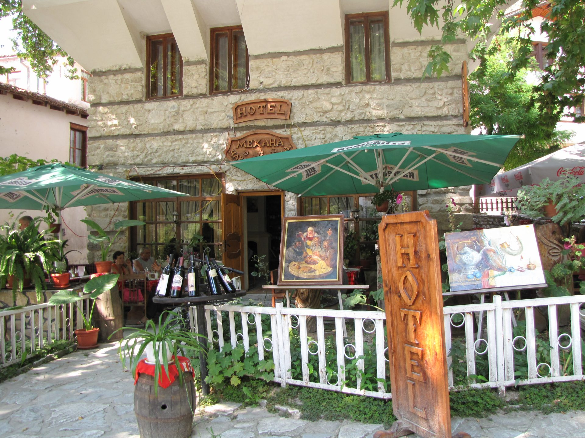 Melnik - hotel